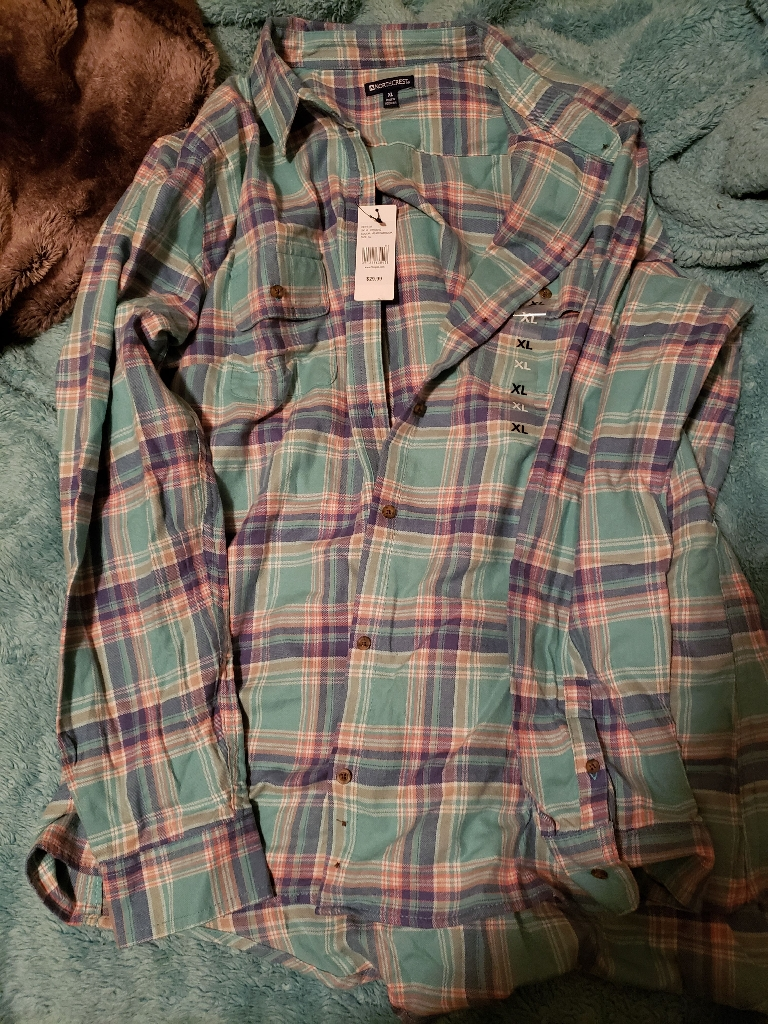 Long sleeve fashion flannel