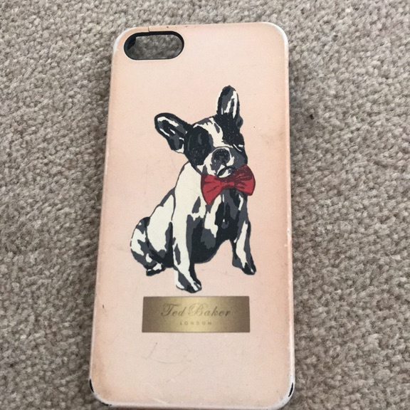 Ted baker iphone 5s case
