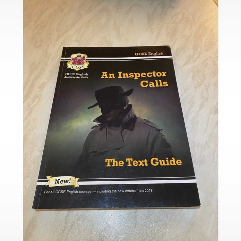 GCSE 9-1 English Literature 'An Inspector calls' guide