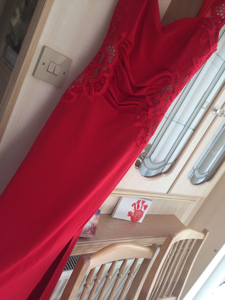 Red evening Dress!