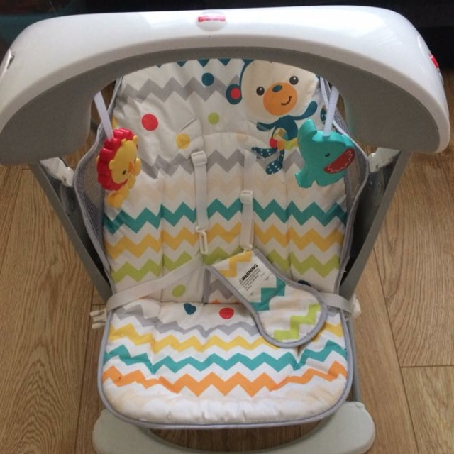 Swinging baby chair