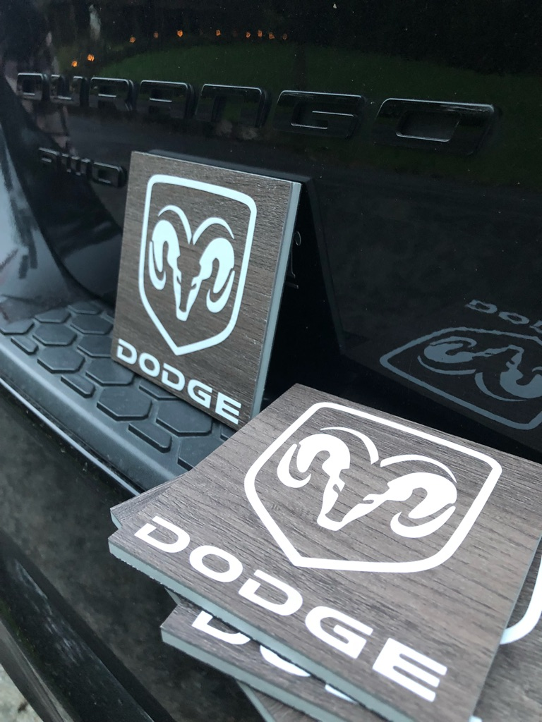 Dodge coaster set