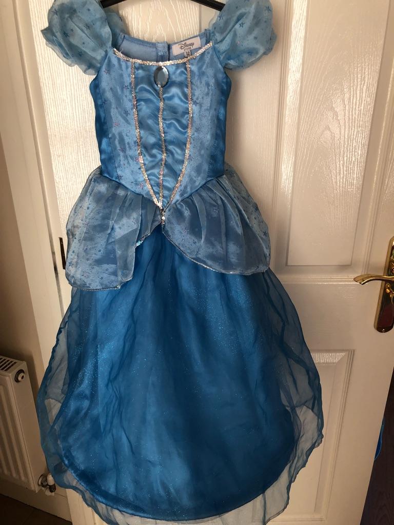Disney Store Cinderella dress & accessories