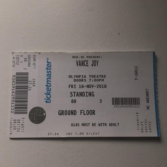 Vance Joy concert tickets
