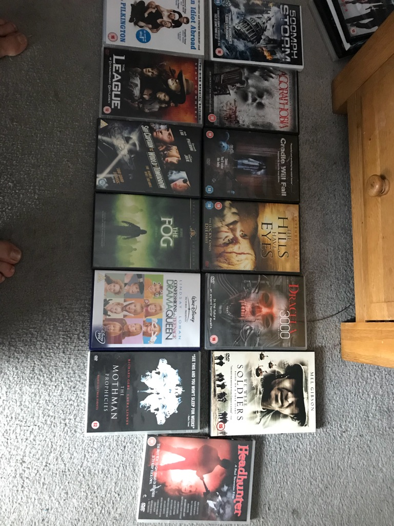 DVDs and random items