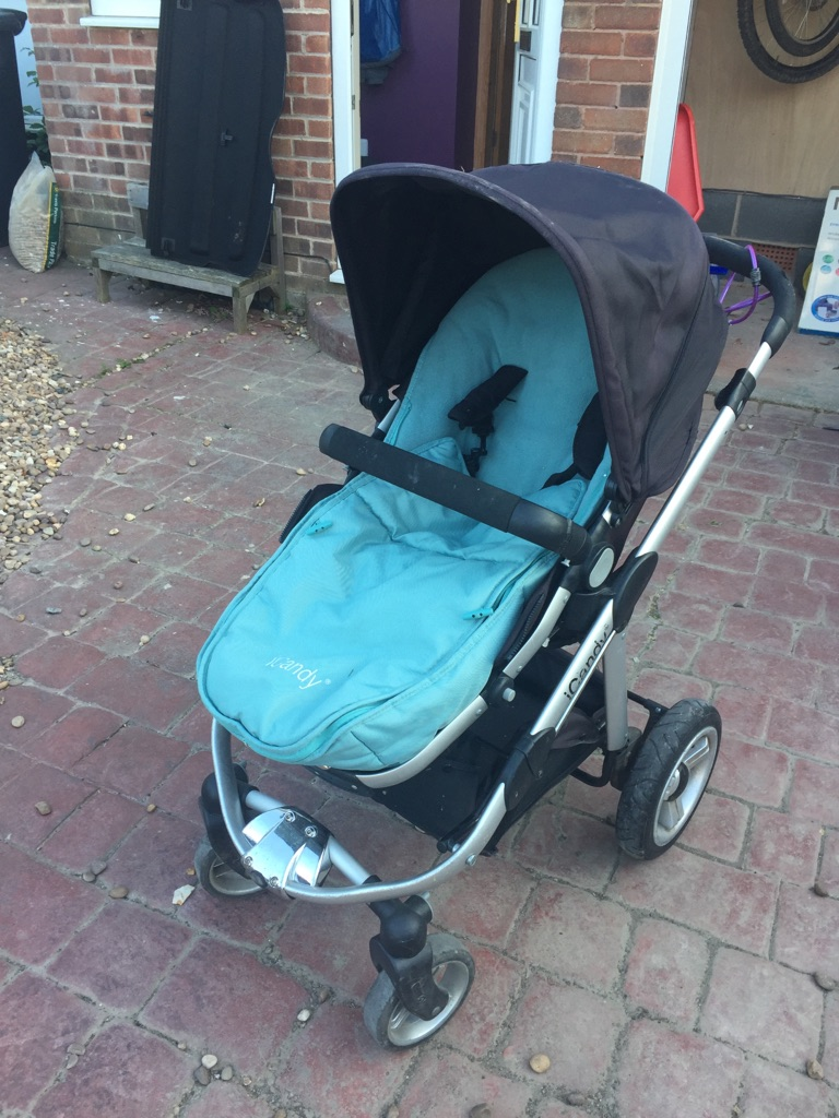 Icandy Apple pram and buggy