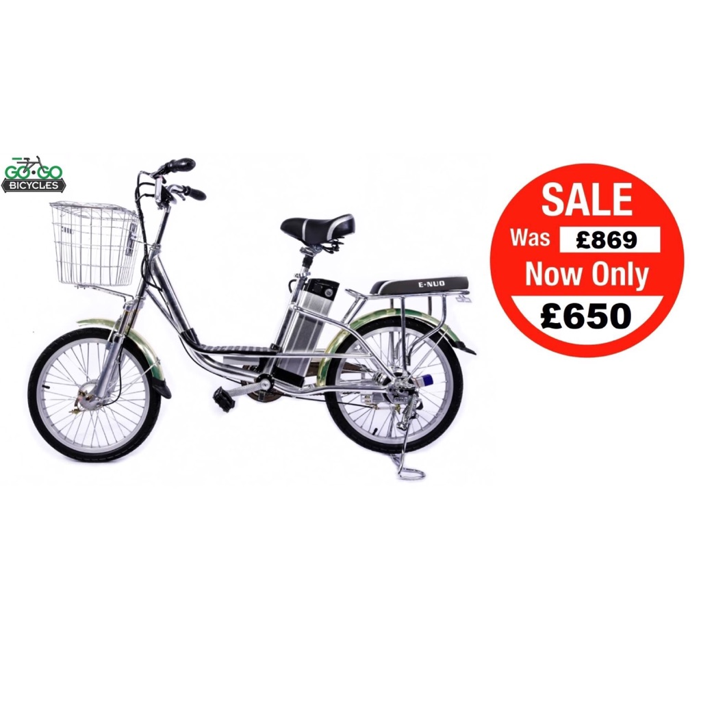 Electric Bike Go Go Tech Brand New Sale