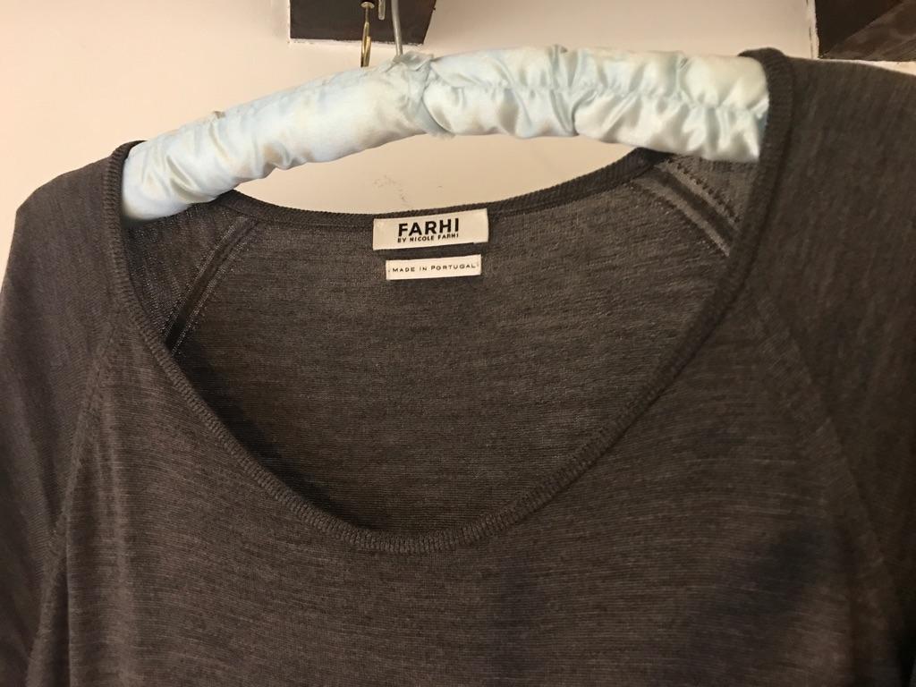 Nicole Farhi 100% Wool Long top