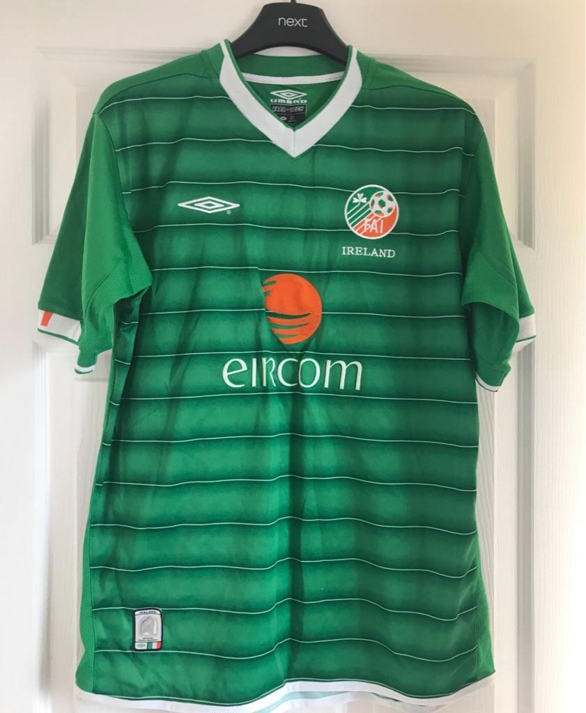 Ireland football shirt boys 13/14