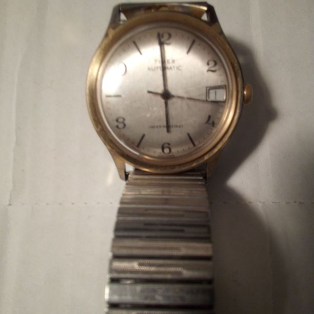 Vintage Timex Date Automatic Mens Watch