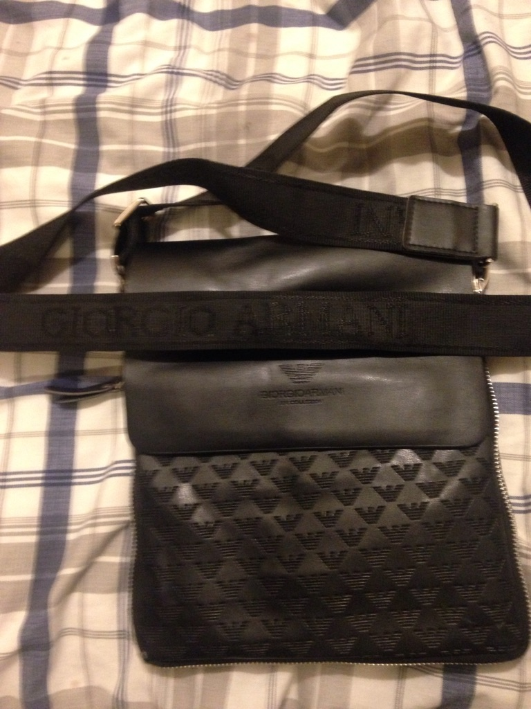 Men's Giorgio Armani shoulder bag