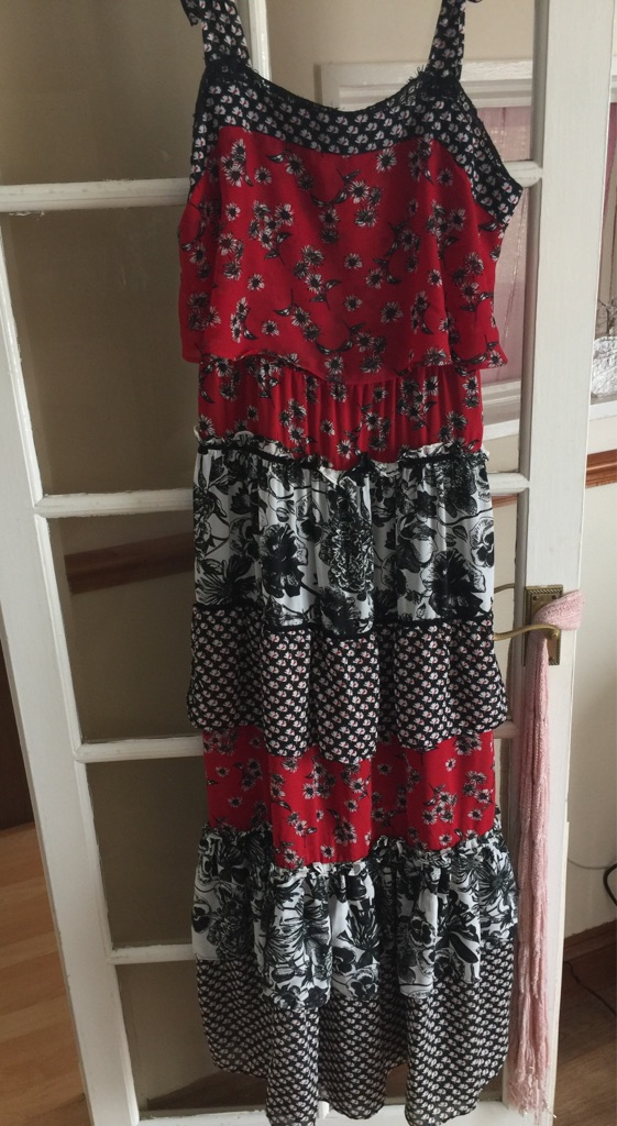 Next maxi dress as new size 12