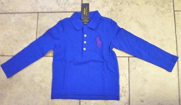 Ralph Lauren Girl Blue Top Size 4T NWT $45