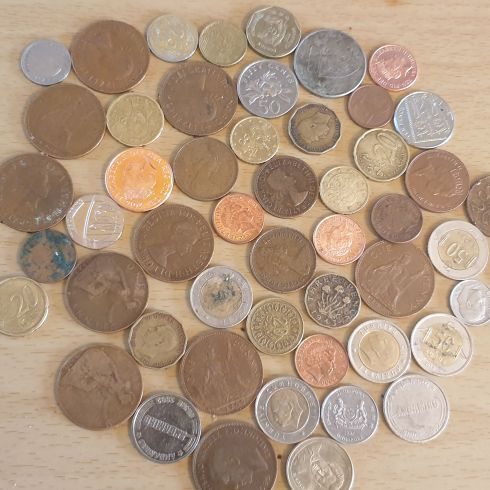 Lots of special and old coins