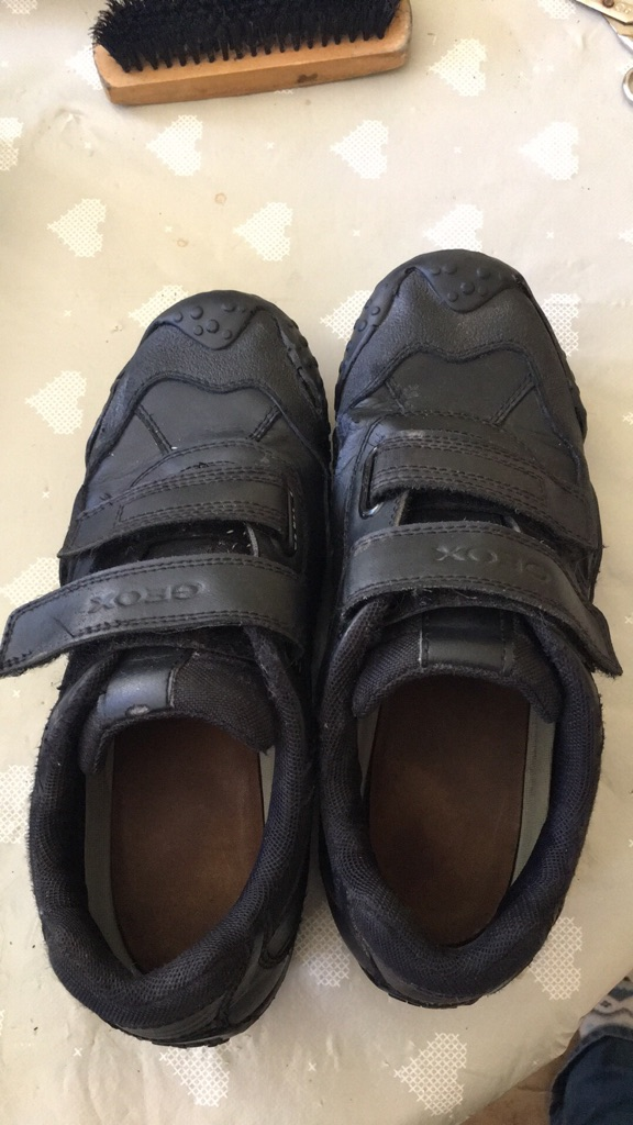 GEOX black shoes size 5
