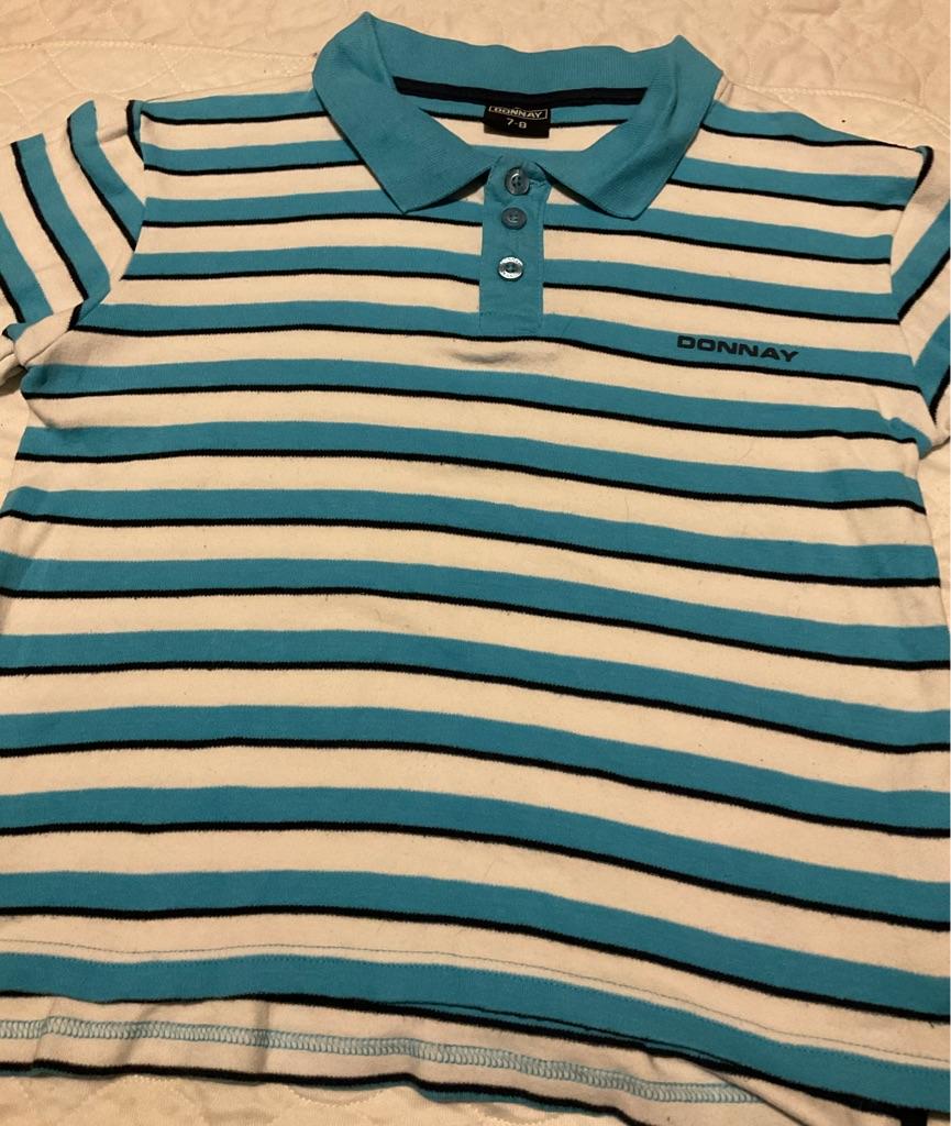 Boys Donnay polo shirt 7-8 years