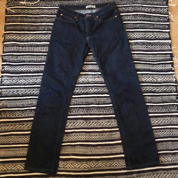 ACNE JEANS (bad name good brand)