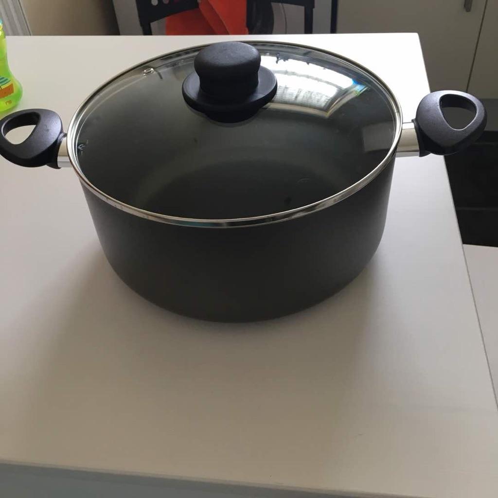 HOME 26cm Non-Stick Aluminium Stock Pot