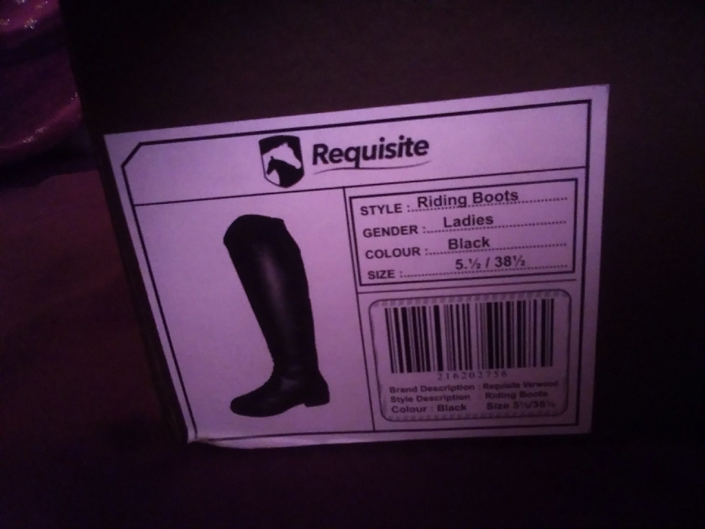 Requisite riding boots size 5 1/2