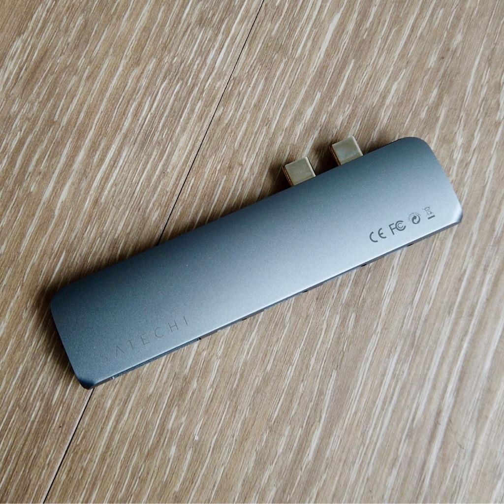 MacBook Pro Satechi Type-C Hub Adapter