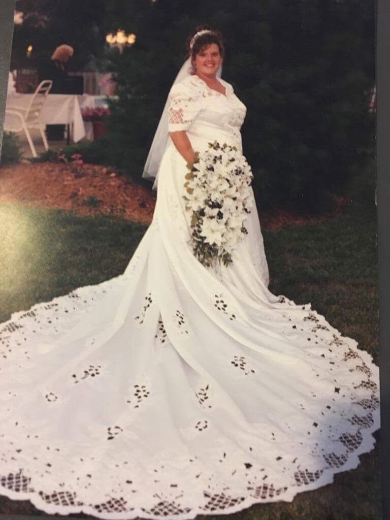 Wedding dress size 20-23 1500 or best offer sealed in a wedding box no holds