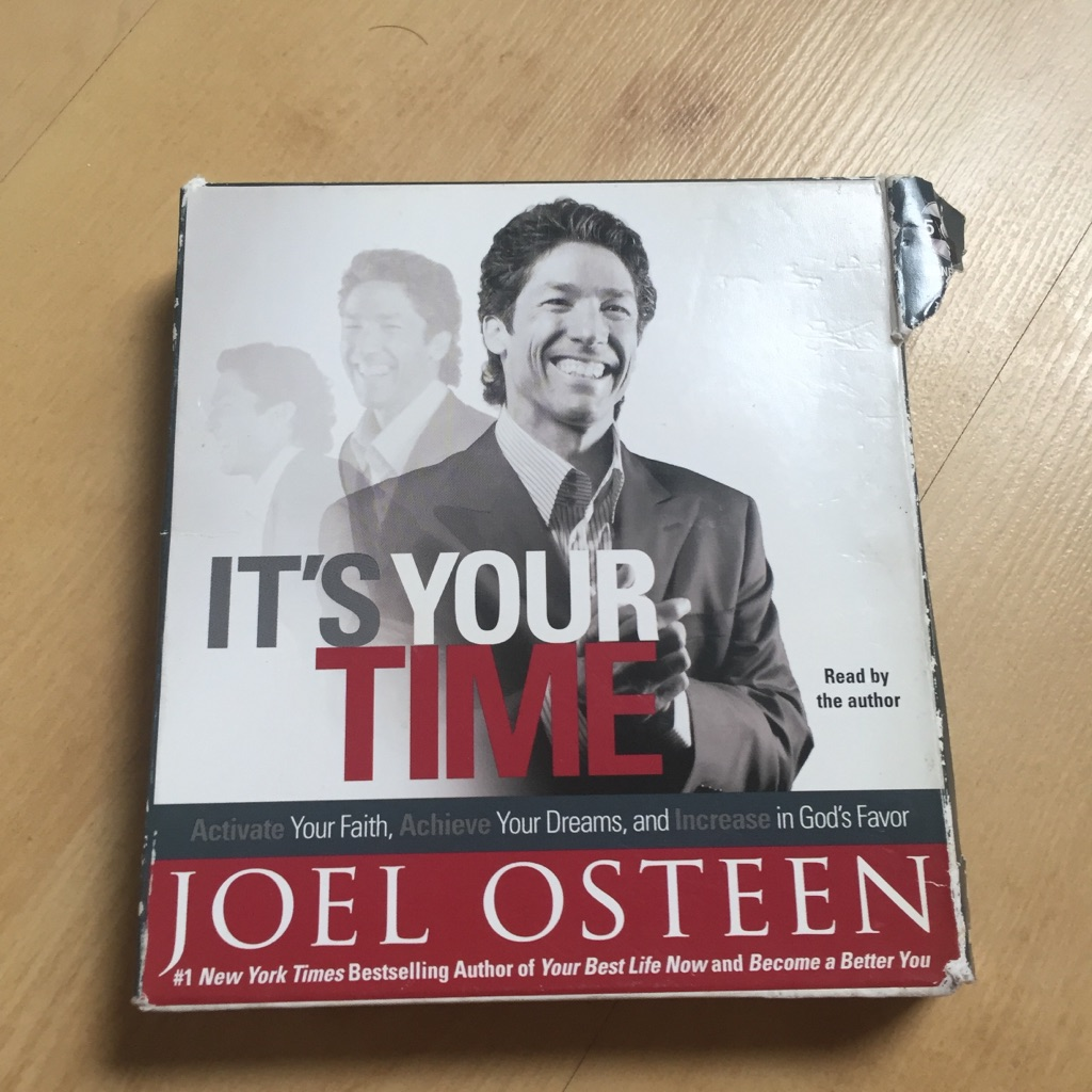 It's Your Time by Joel Osteen 5 CD audio book