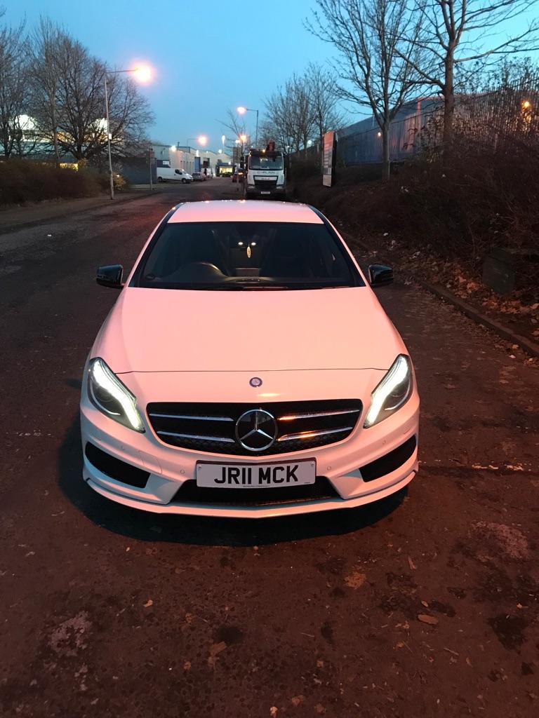 Mercedes Benz A-class 180 Amg line