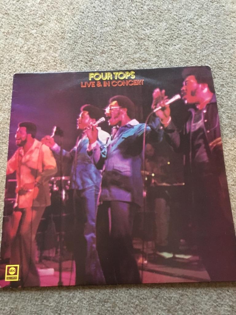 Four Tops original vinyl