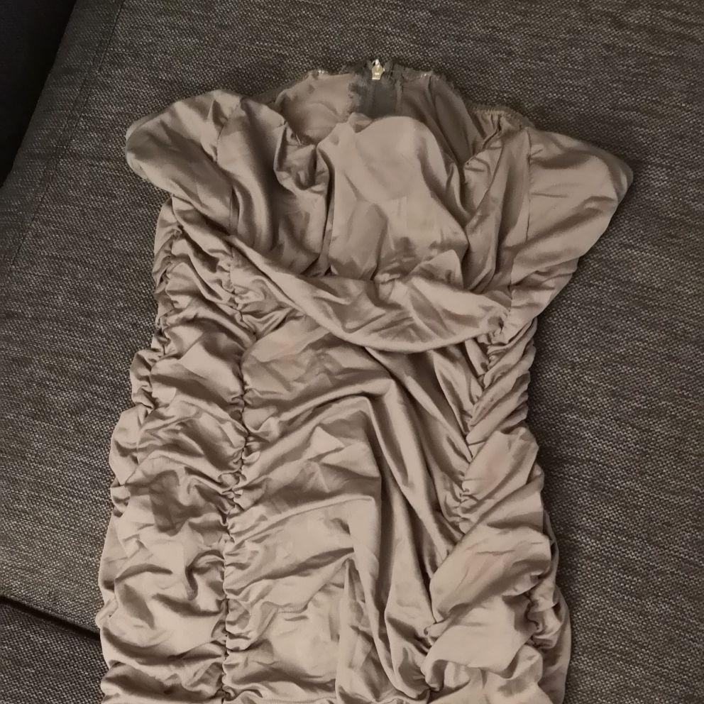 Boobtube Dress grey