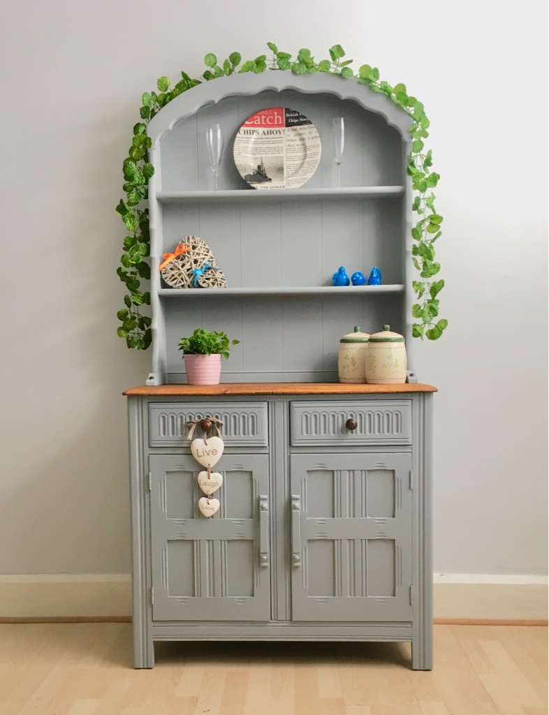 Unique Farmhouse Style Welsh Dresser