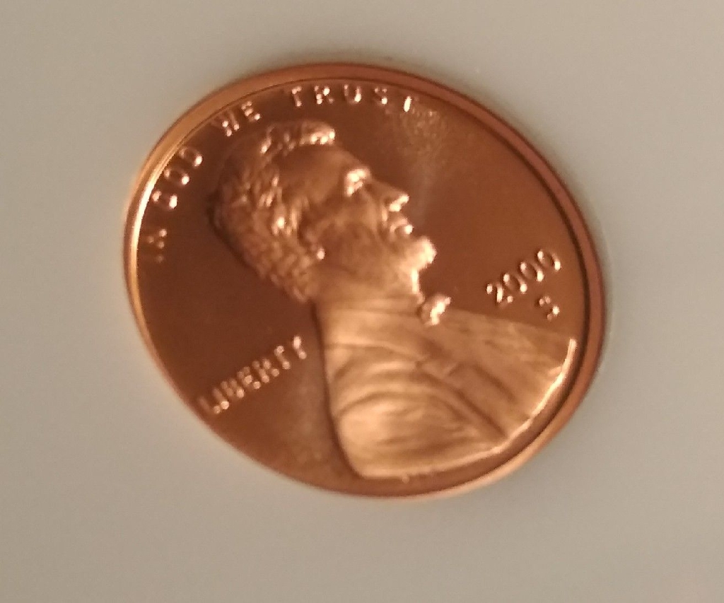 2000 S mint proof Lincoln cent