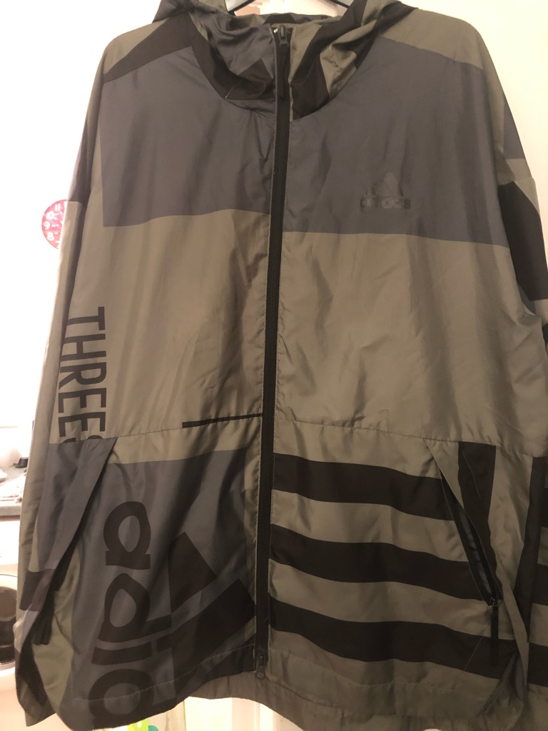 Adidas jacket Size Large 48 Chest In Great condition