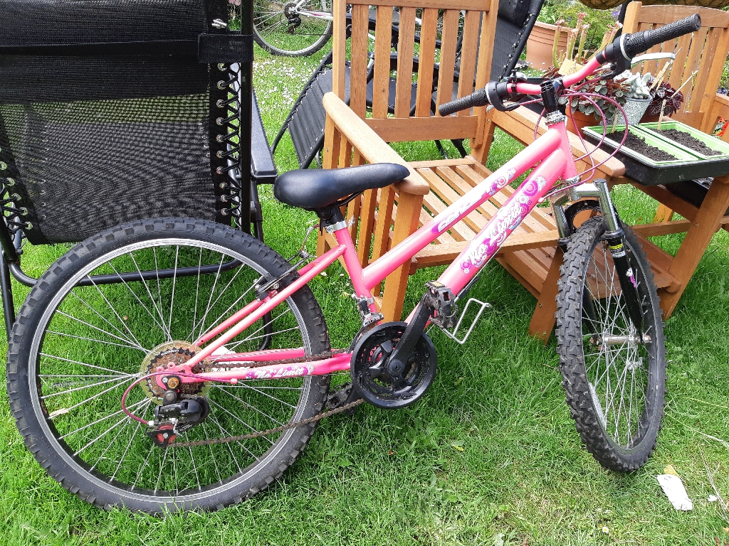 1 pink  bike for sale