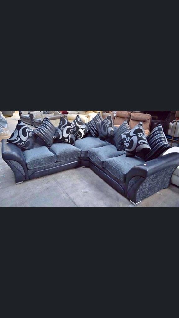 Shannon corner sofa brand new