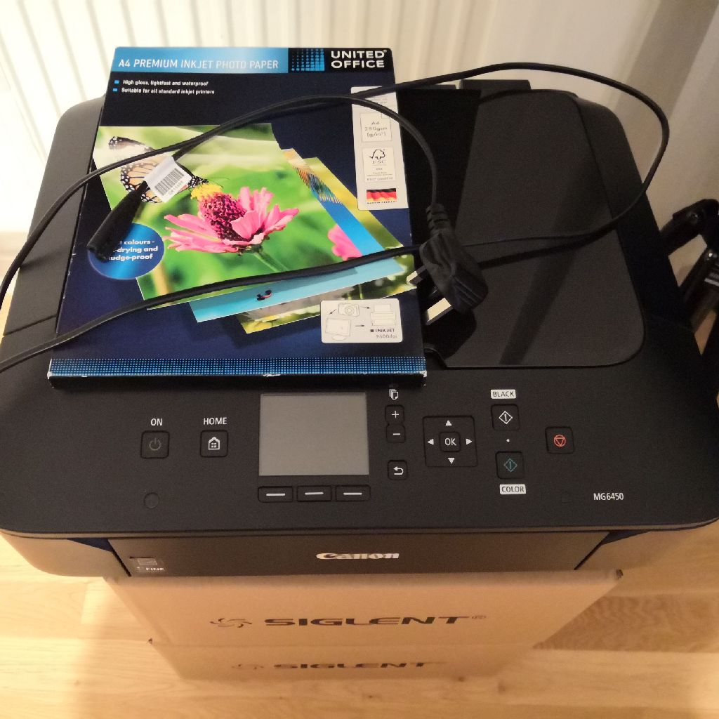 Canon PIXMA MG6450 printer