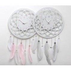 Dream catcher clocks