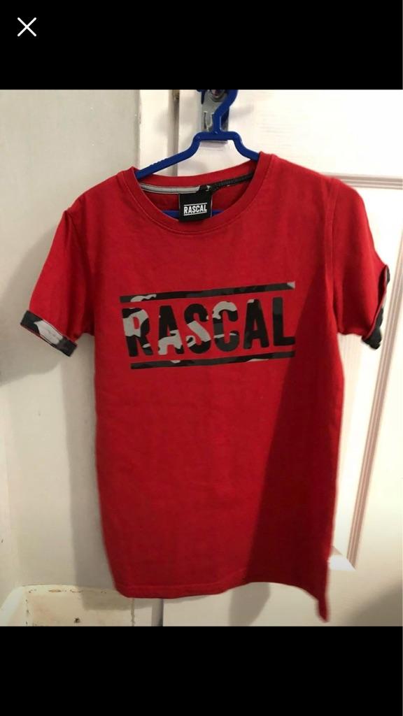 Boys rascal clothing age10-12