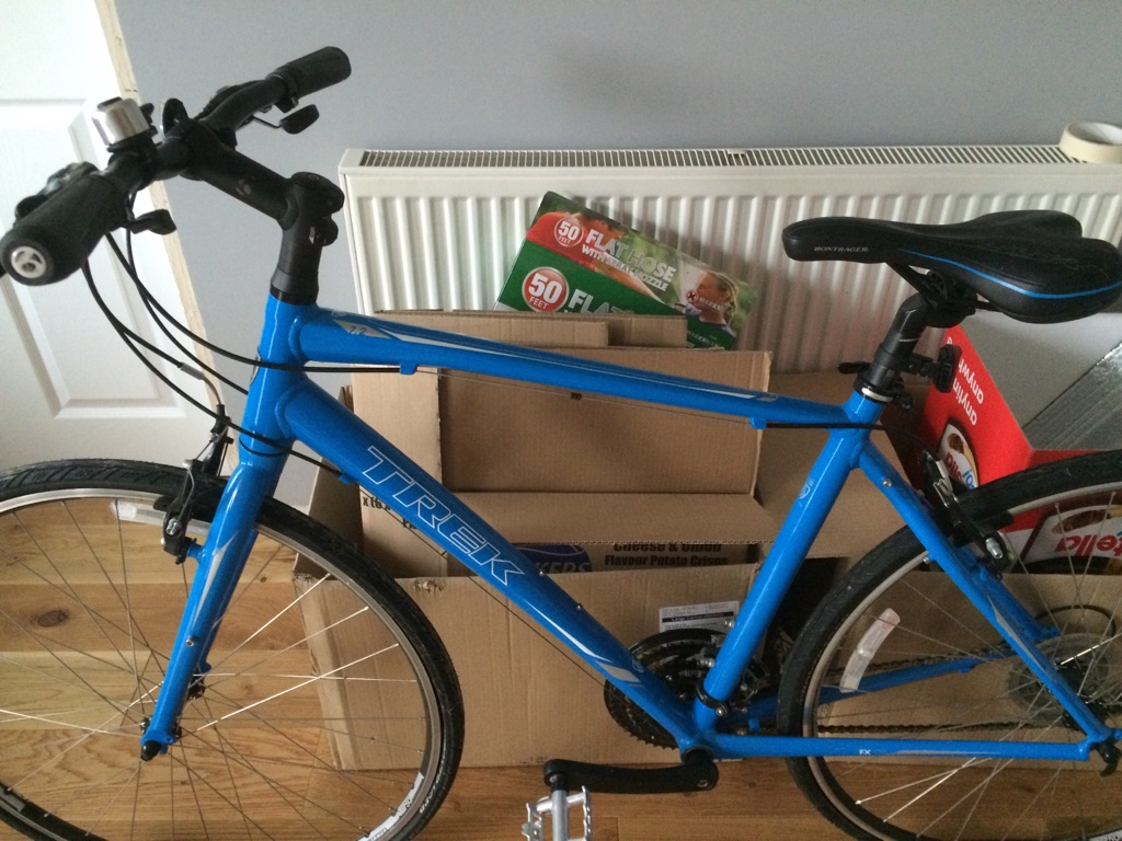 Trek men's hybrid bike