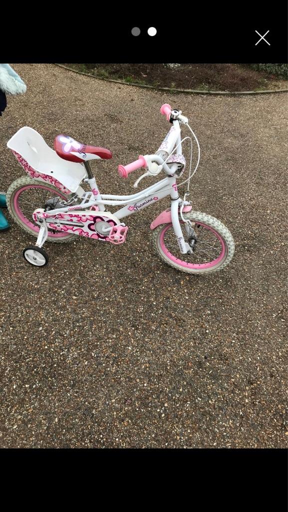 4-7 years old girls jasmine bike