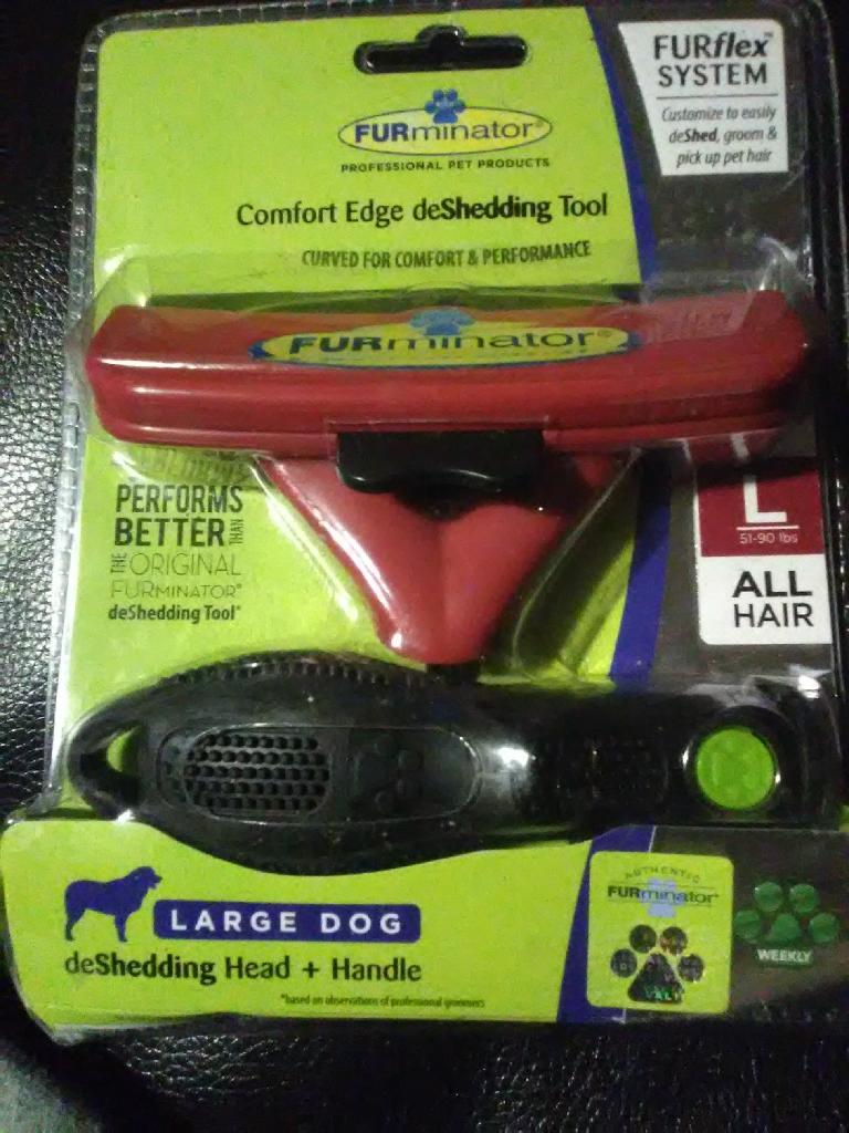 Furrminator Comfort Edge Deshedding Tool