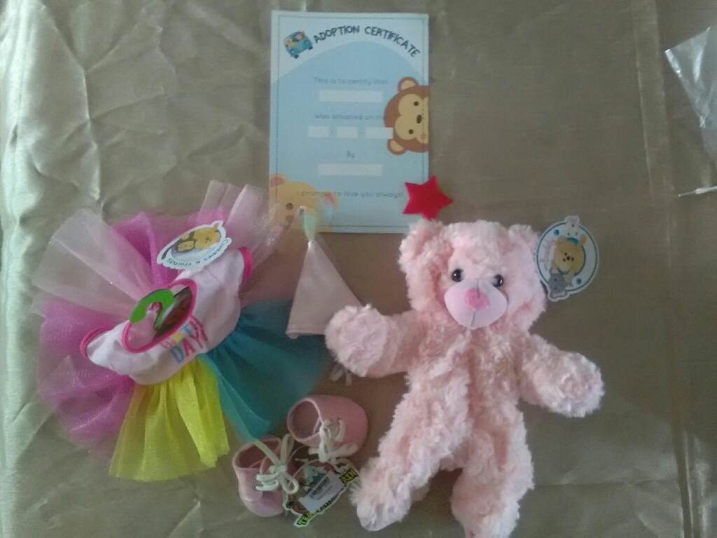 Build a bear at home Birthday girl besr outfit and shoes
