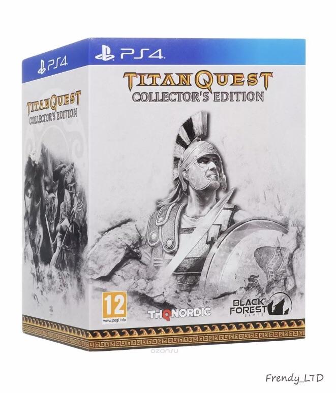 TITAN QUEST COLLECTORS EDITION (PS4)