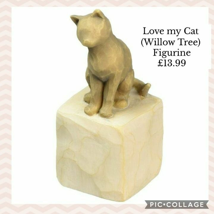 🐈Love my Cat (Willow Tree) Figurine 💥£13.99