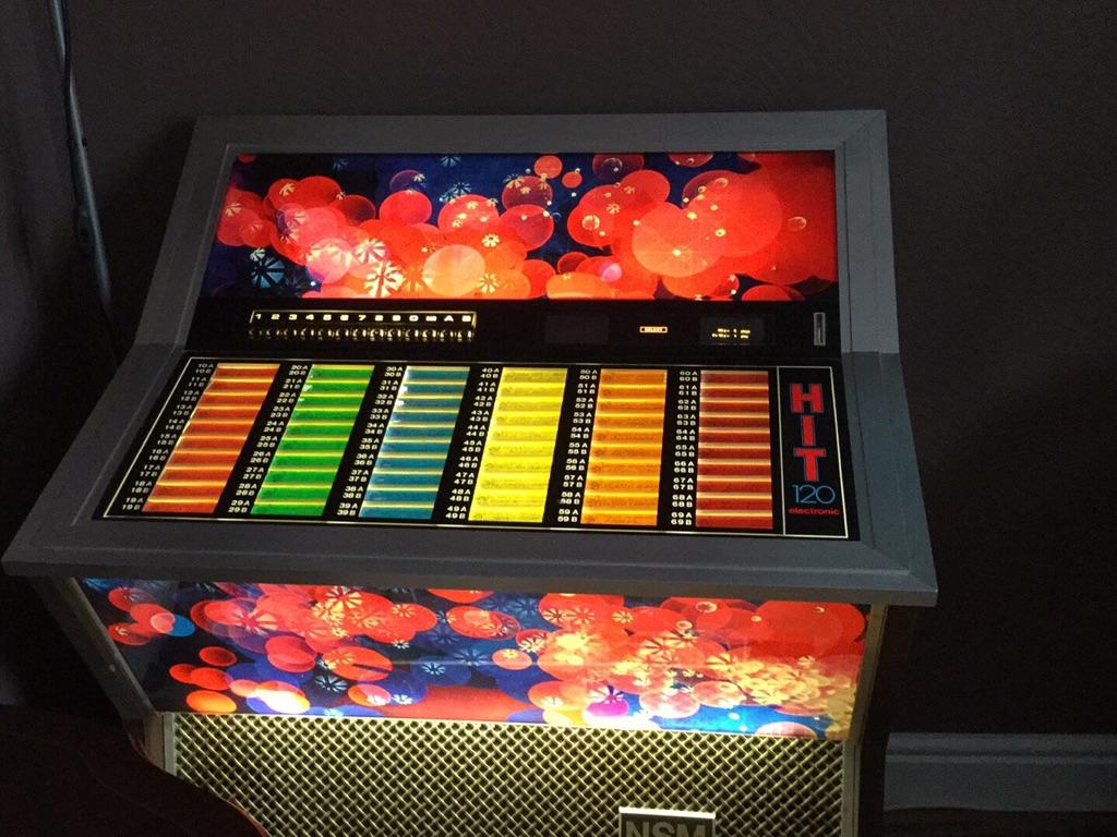 1970 s juke box
