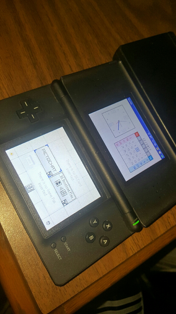 DS Lite and DSi