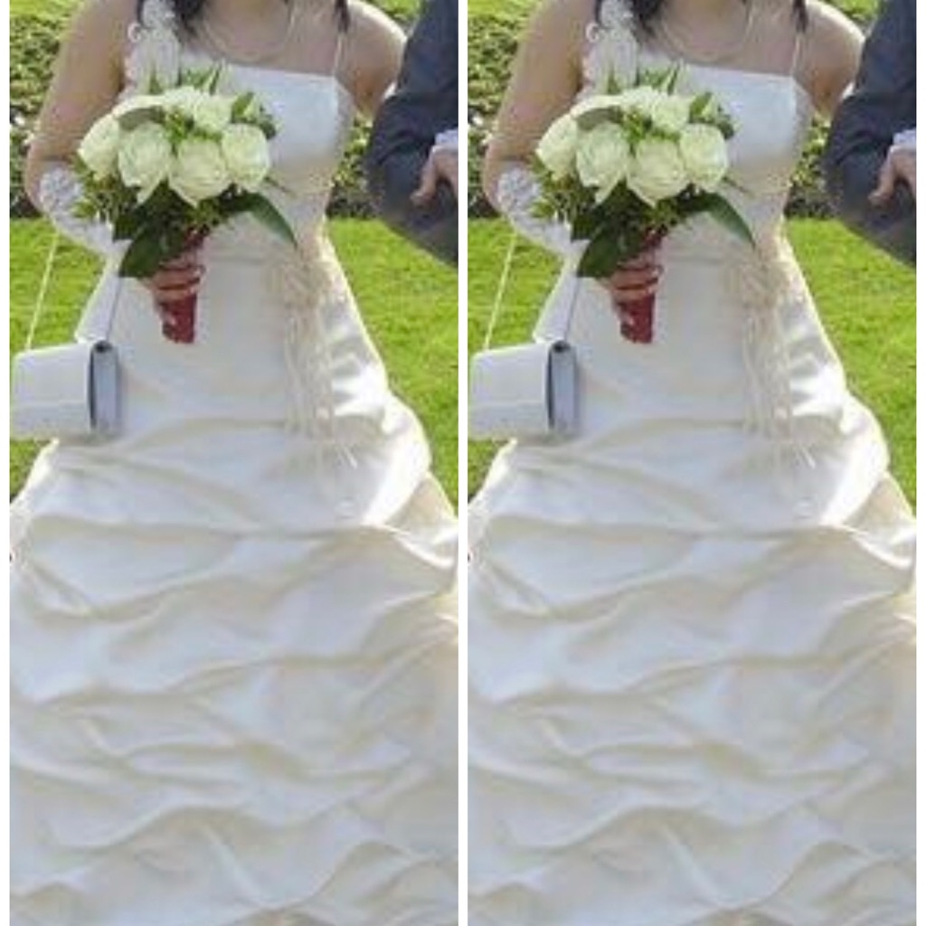 Wedding dress ivory/cream colour