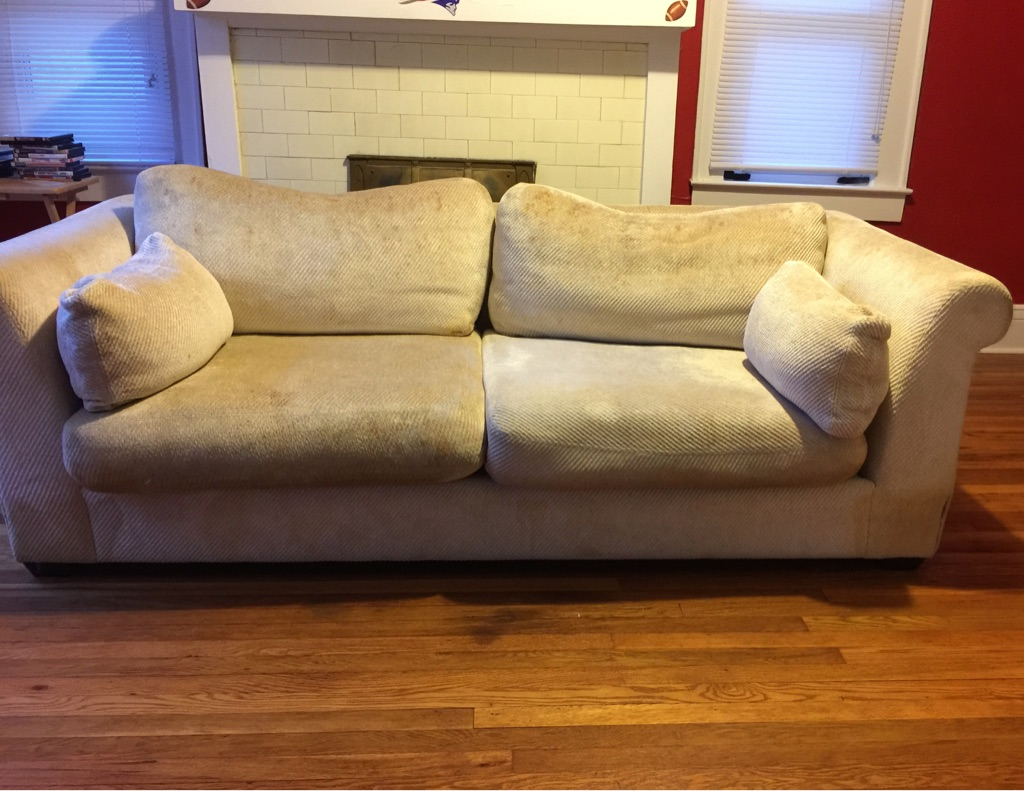 oversized loveseat