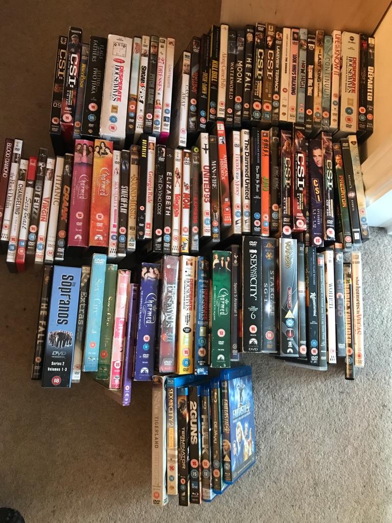 Job lot of variety of DVD's and Boxsets
