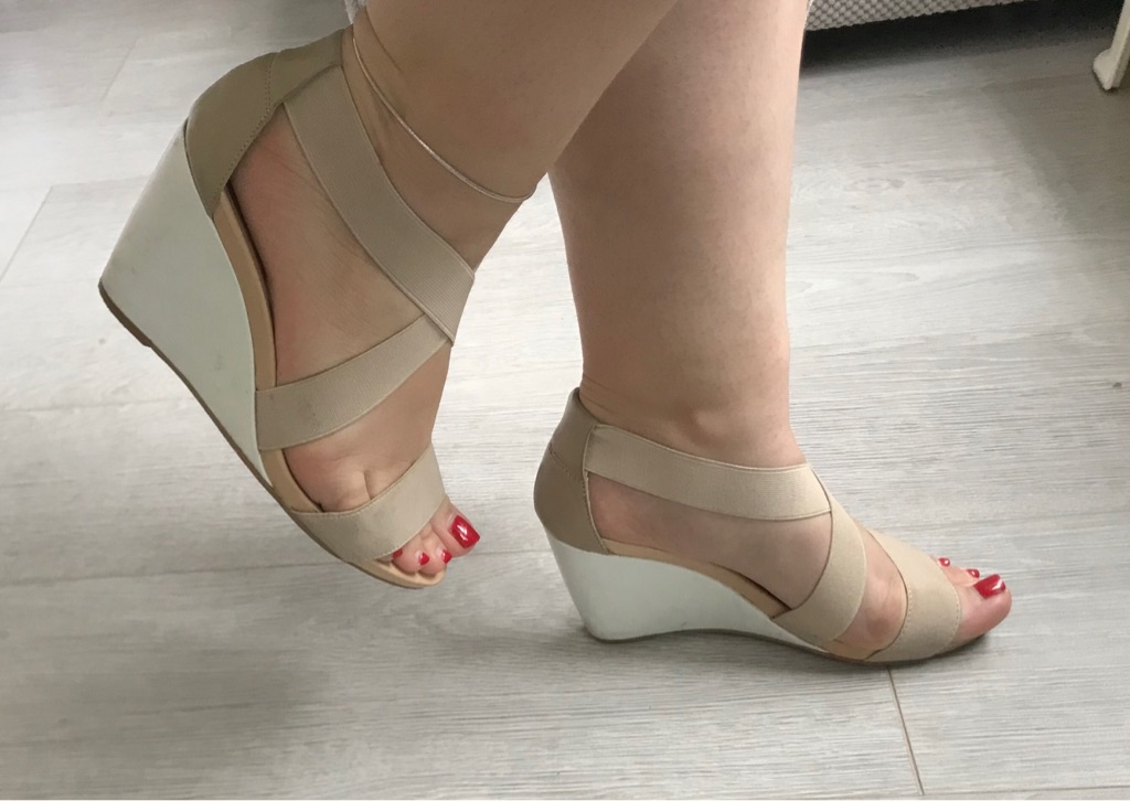 DUNE Sandals Wedge