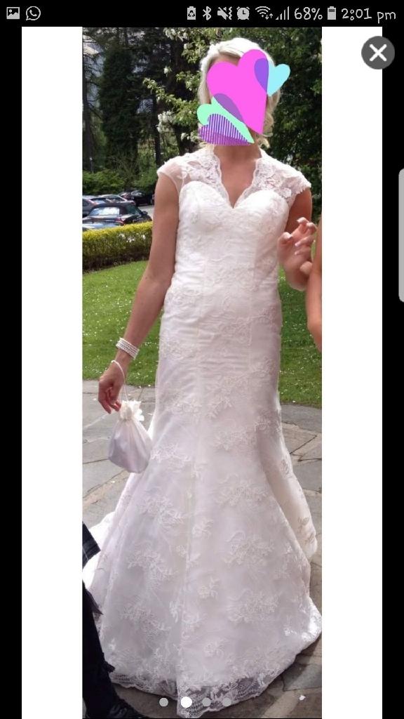Bride & 2 Bridesmaid dresses